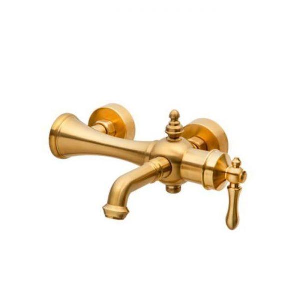 شیر حمام دوش نوبل اپولو طلایی مات